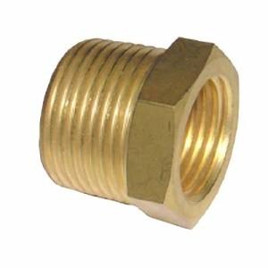 ข้อลดเหลี่ยมทองเหลือง (Brass Fitting)