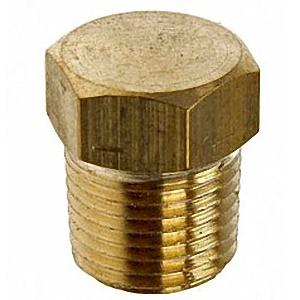 ปลั๊กอุดทองเหลือง (Hex Plug Brass)