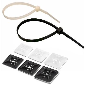 เข็มขัดรัดสายไฟ (Cable Tie & Mount)