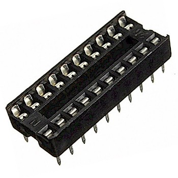 2.54 mm. IC Socket Stamp Pin